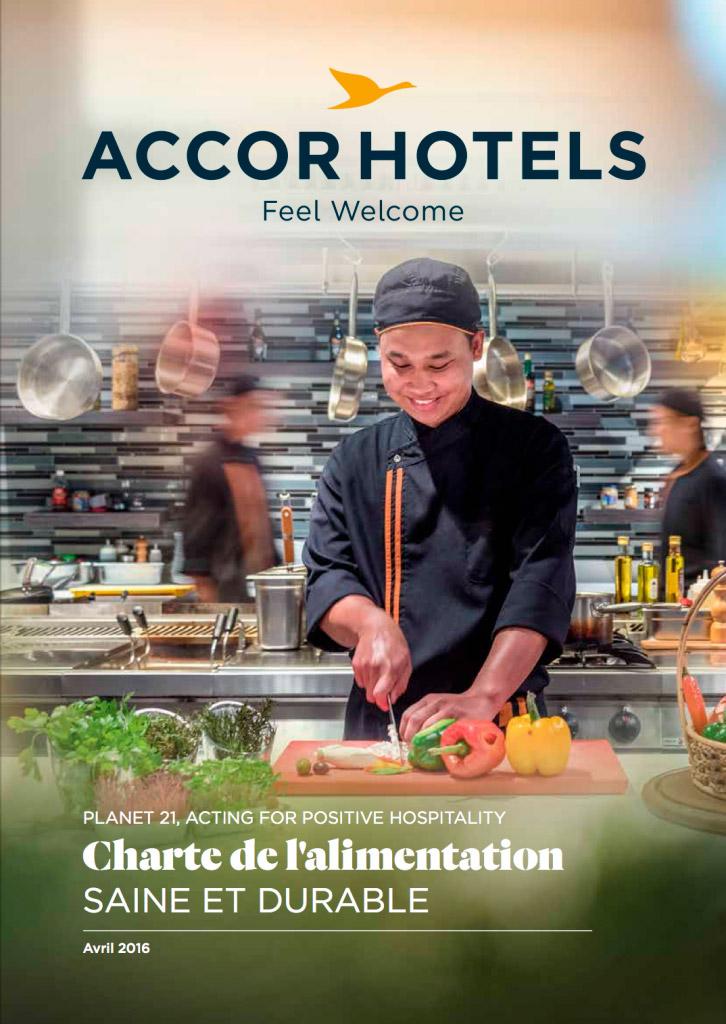 Accor Hôtels charte alimentation Avec Des Mots  Communication éditoriale