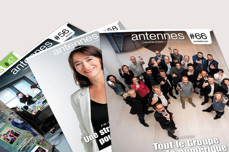 France Télévision / Magazine Interne / Avec des Mots Communication éditoriale