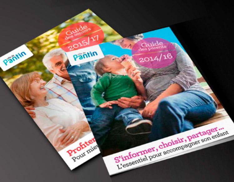 Ville de Pantin  / Brochures / Avec des Mots Communication éditoriale