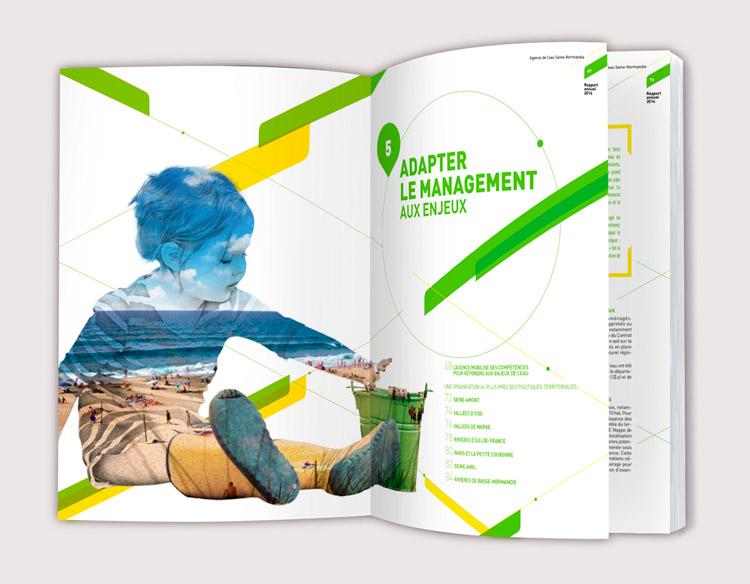 AESN Rapport Annuel  / Avec des Mots Communication éditoriale