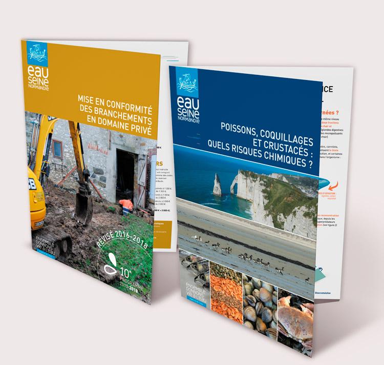 AESN Plaquettes / Avec des Mots Communication éditoriale