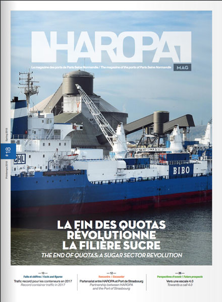 Haropa Mag couverture
