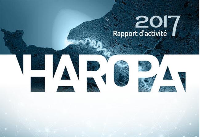 accueil mini-site rapport activité Haropa