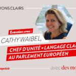 entretien avec Cathy Waibel - langage clair